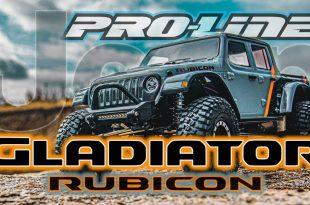 Pro-Line 2020 Jeep Gladiator Clear Body