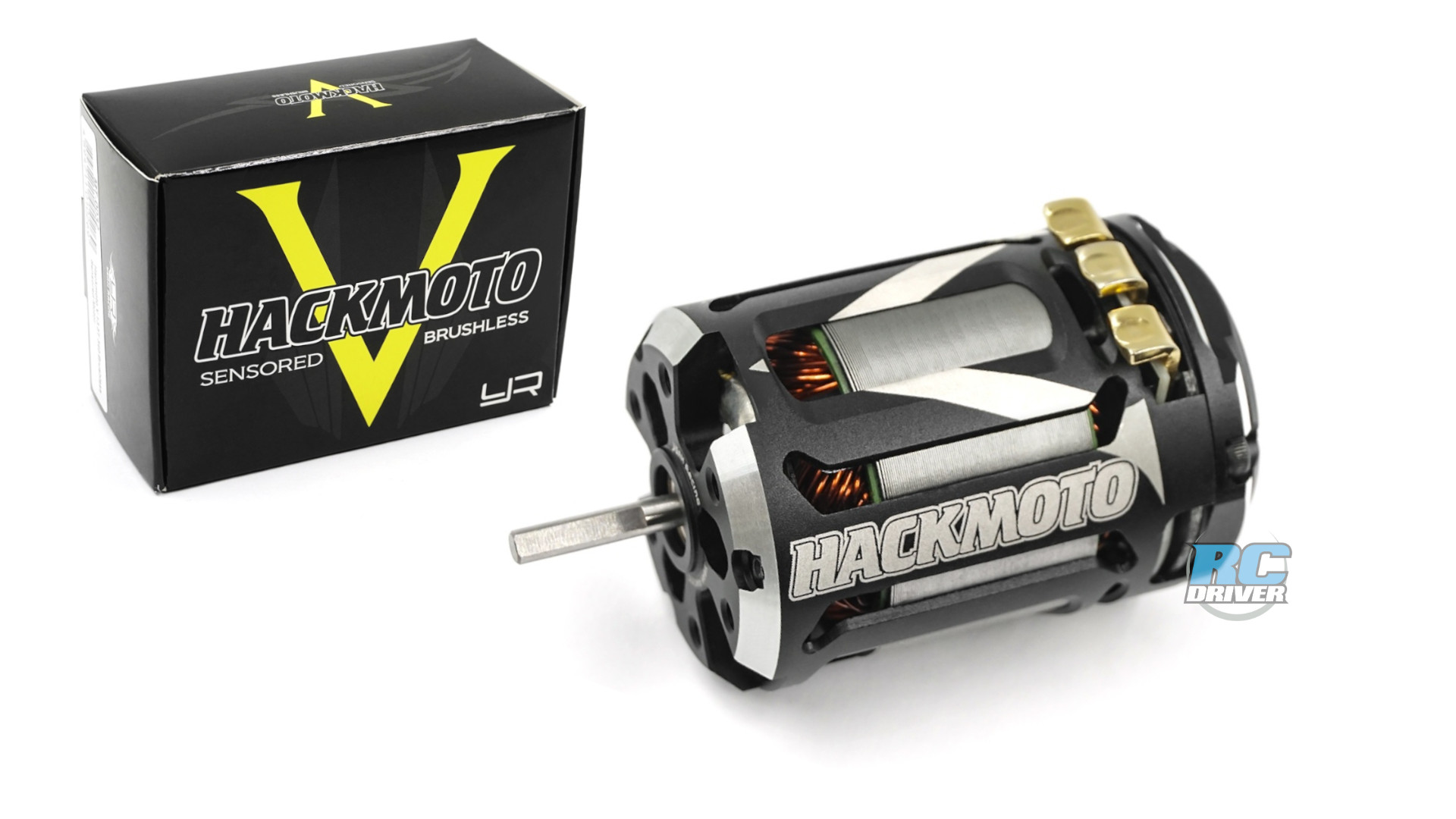 Yeah Racing Hackmoto V Brushless Sensored Motors
