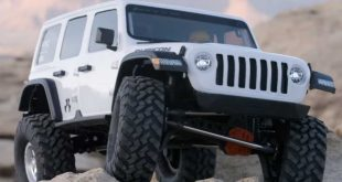 Axial SCX10 III Jeep Wrangler Rubicon Released