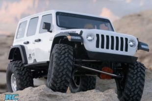 Axial SCX10 III Jeep Wrangler Rubicon Released