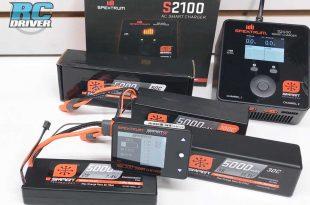 Spektrum Smart Technology S2100 Charger, LiPo Batteries & Checker Overview