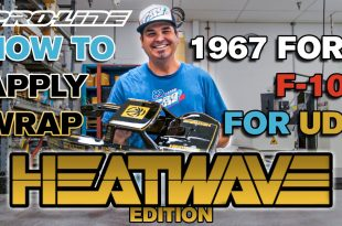 Pro-Line HOW TO: Apply Wrap to 1967 F-100 HEATWAVE Edition for UDR