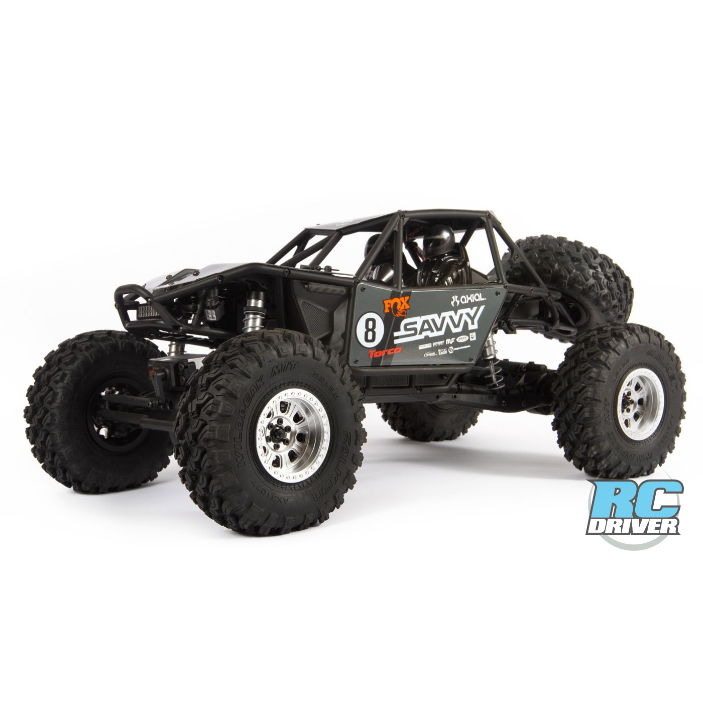 Updated Axial RR10 Bomber 2.0 4WD RTR