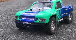 Losi TENACITY TT Pro 4WD Brushless RC Truck Speed Test