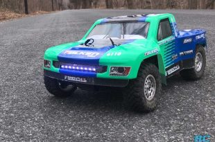 Losi TENACITY TT Pro 4WD Brushless RC Truck Speed Test