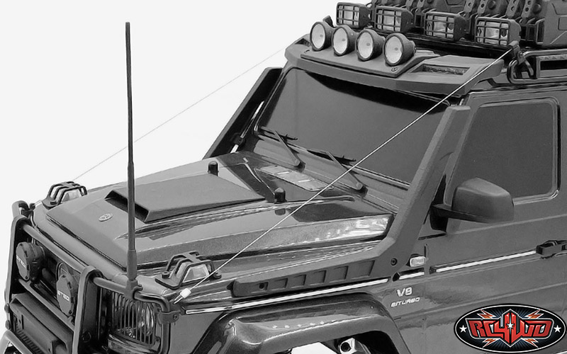 RC4WD scale parts for the Traxxas Mercedes-Benz 6x6