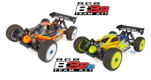 New Team Associated parts for RC8B3.2 & RC8B3.2e