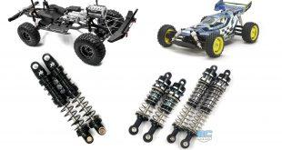 Xtra Speed Aluminum Shocks for crawler and buggies