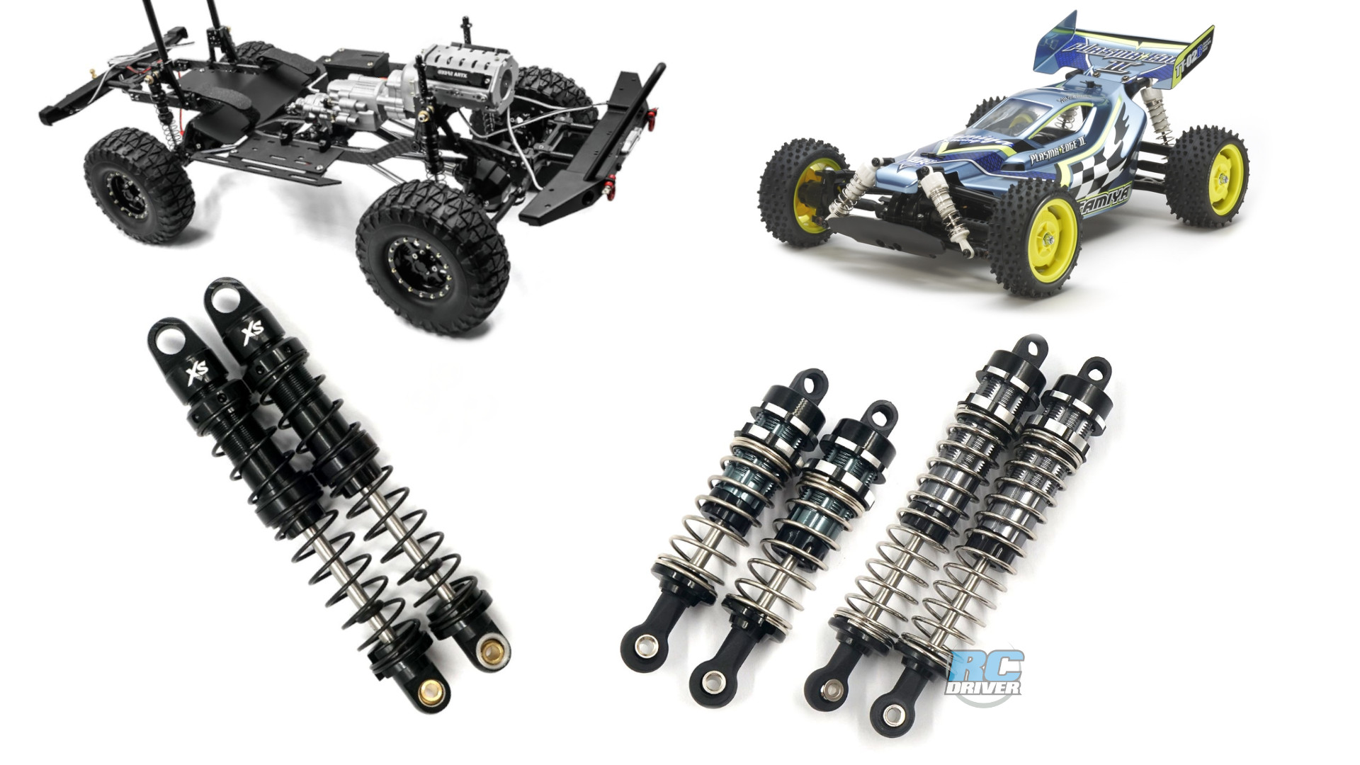 Xtra Speed Aluminum Shocks for crawler and buggies