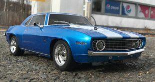 Kyosho 1969 Chevy Camaro Z/28 Fazer Mk2 Speed Test
