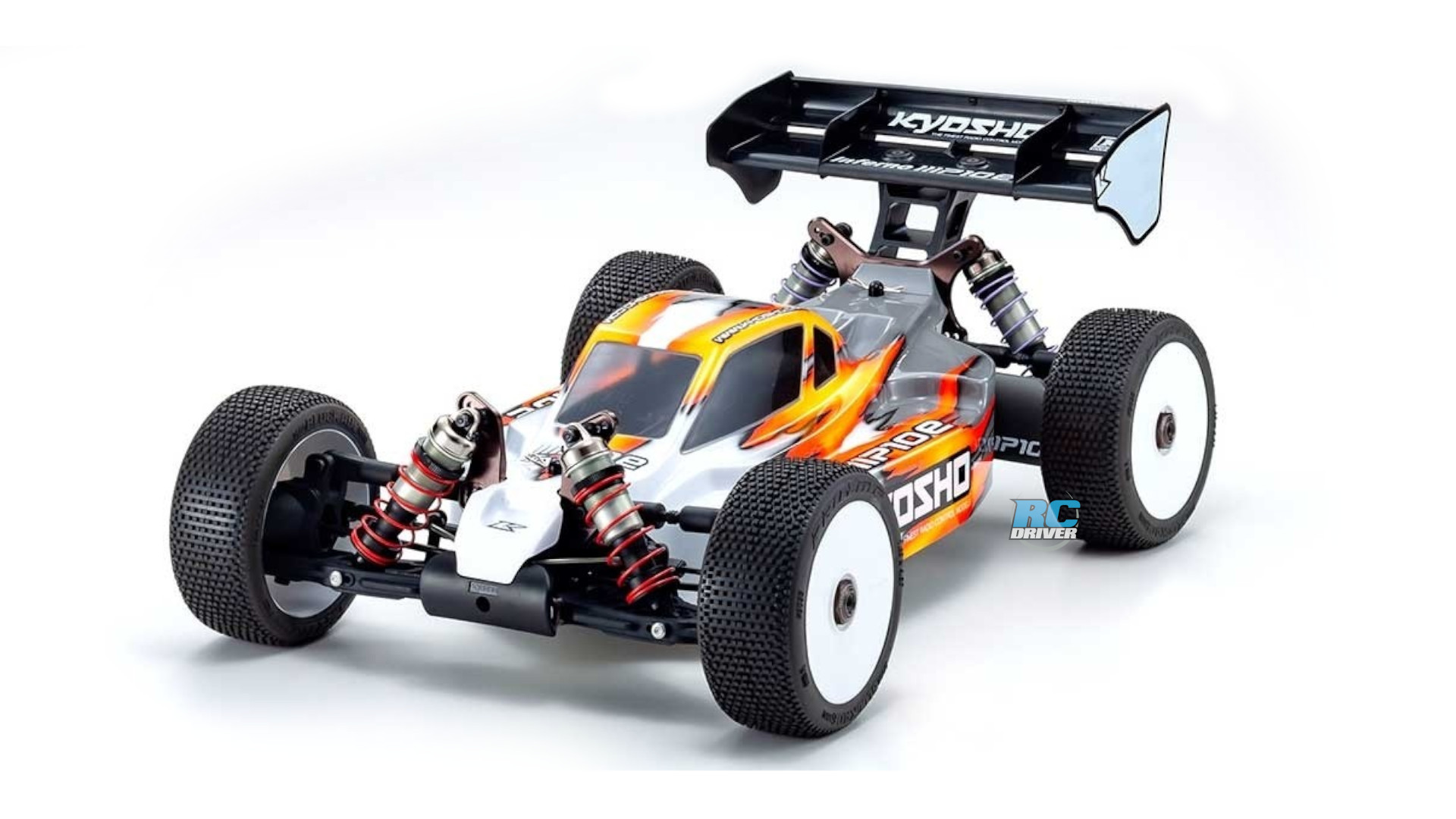 New Kyosho Inferno MP10e 1/8-scale electric buggy