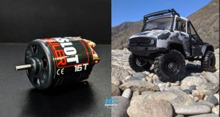 Tekin 5-Slot Brushed Crawler Motors