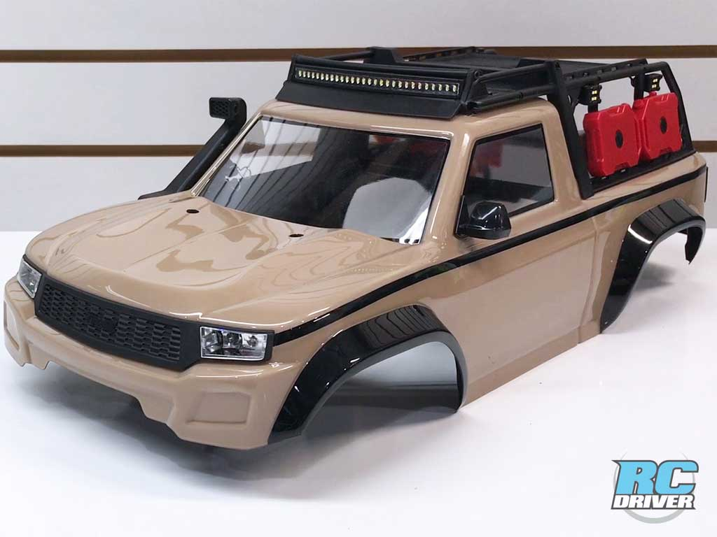 Ultimate Expedition Body Build - Traxxas TRX-4 Sport