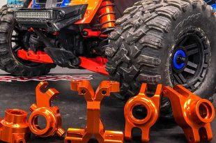 Aluminum Suspension Goodies - Traxxas Maxx