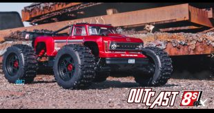 Arrma 1/5 Outcast 8S BLX 4WD Brushless Stunt Truck