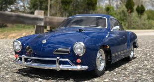 Tamiya Volkswagen Karmann Ghia M-06L RR RC Car Kit Overview