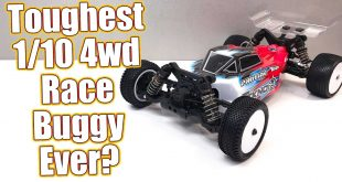 Tekno EB410.2 1/10th 4WD Buggy Race Kit Overview