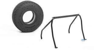 RC4WD Falken Wildpeak tires and Headache Rack