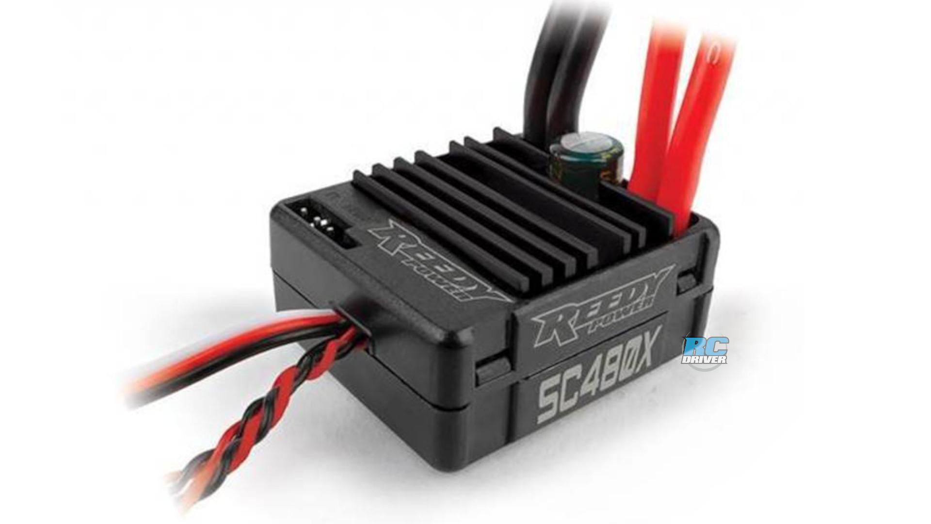 Reedy SC480X Brushed Crawler ESC - announced