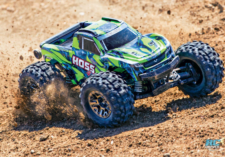 NEW Traxxas HOSS 4X4 VXL Monster Truck