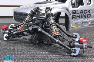 Losi Baja Rey Build Part 2 - Installing Front Suspension