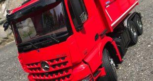 Tamiya Mercedes-Benz Arocs 3348 Tipper Truck Review