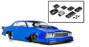 Pro-Line 1978 Chevy Malibu drag body & optional hood scoops/blowers