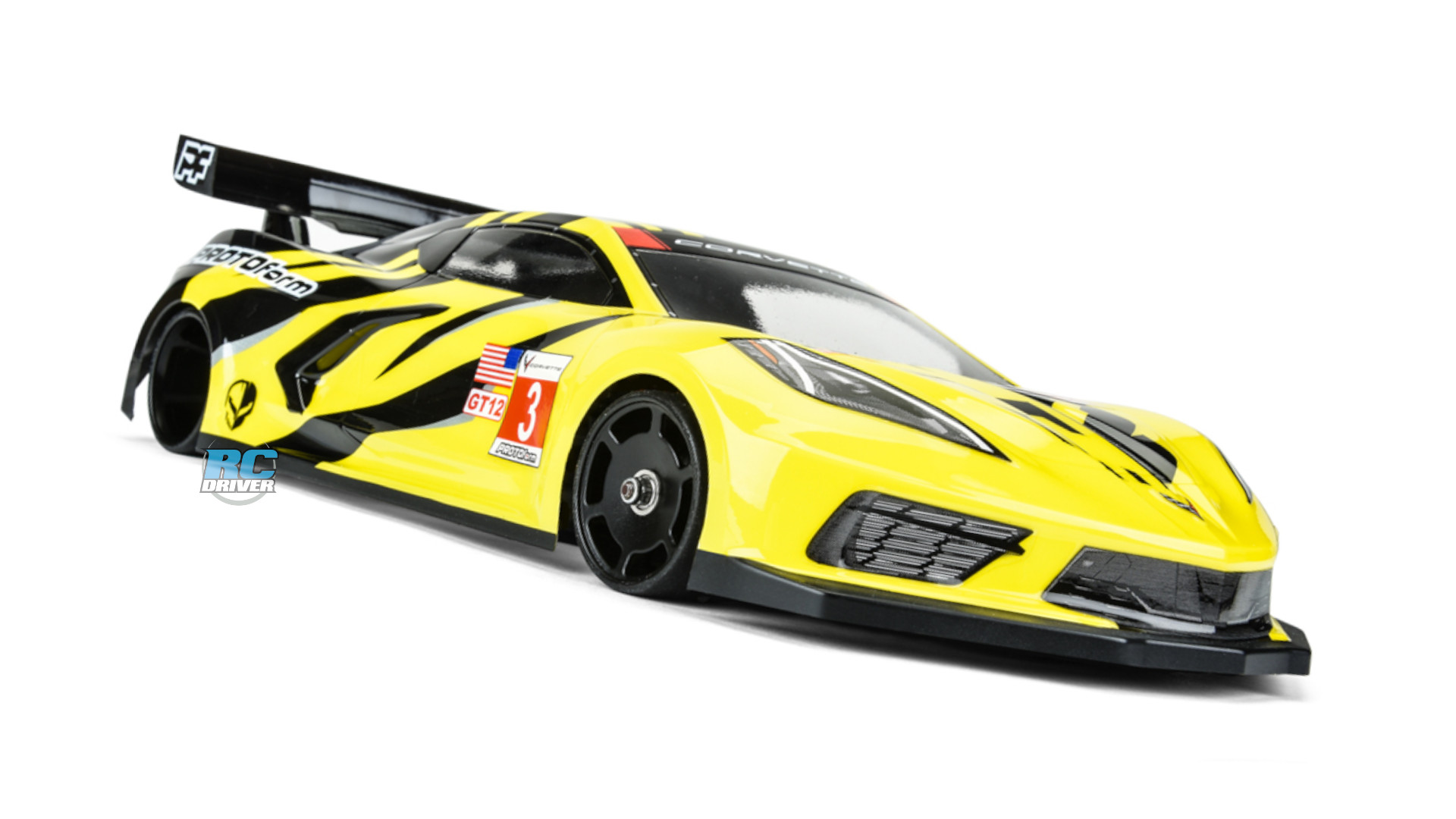 Now for GT12 - PROTOform Chevrolet Corvette C8 body