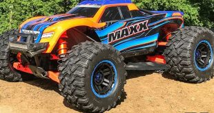 First Bash With Project Traxxas Maxx Build
