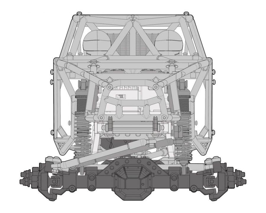 Element RC Enduro Gatekeeper Rock Crawler/Trail truck builder's kit