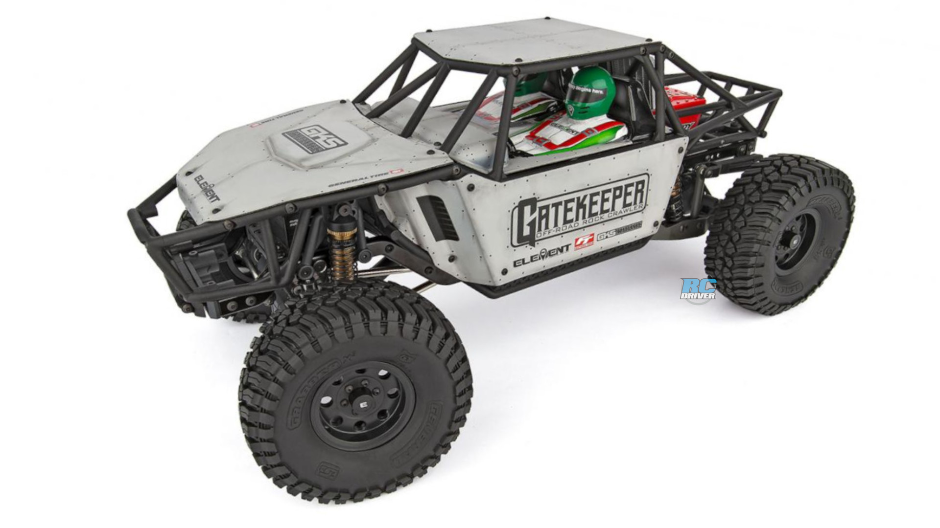 Element RC Enduro Gatekeeper Rock Crawler/Trail truck builder's kit