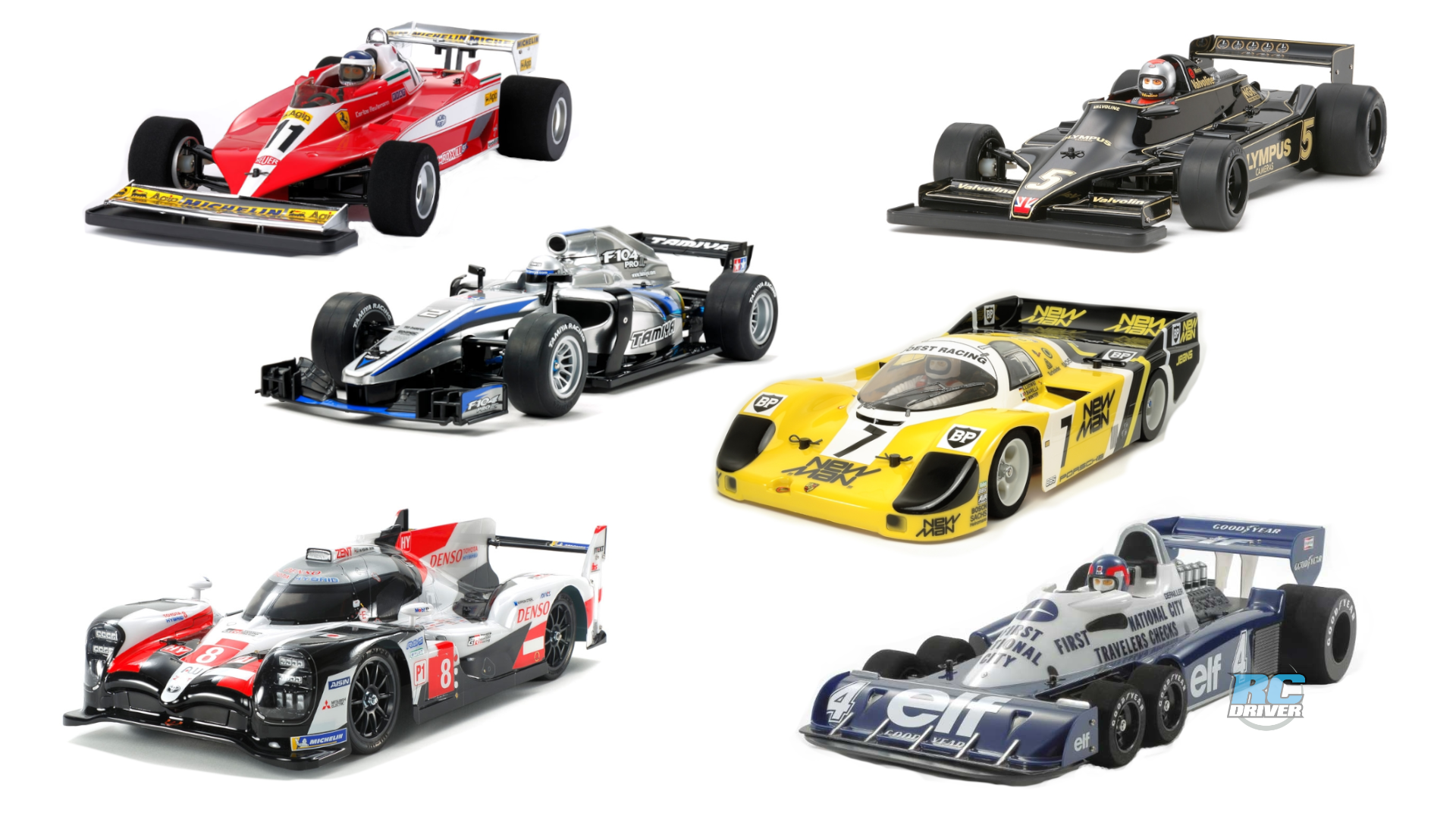 Tamiya's purpose built on-road racecar offerings