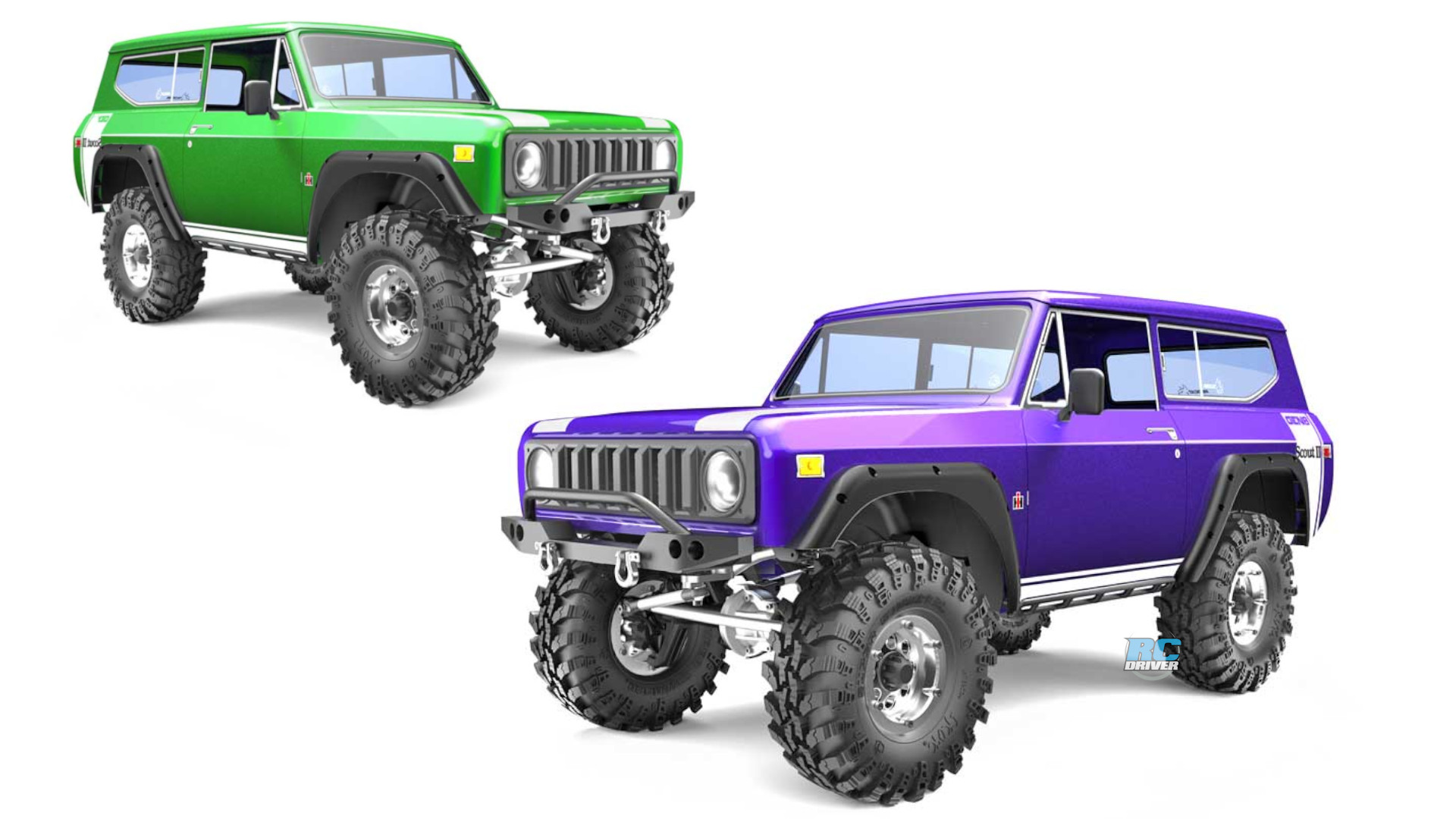 Redcat Gen8 V2 International Scout II RTR crawler