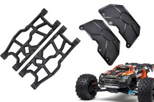 RPM Rear A-arms and mud guards for Arrma Kraton 8S