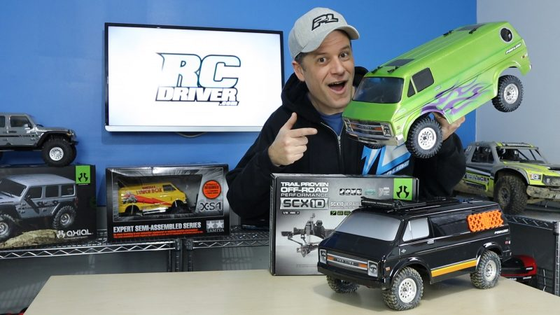 Pro-Line Racing Rock Van Body With Axial SCX10 II Giveaway