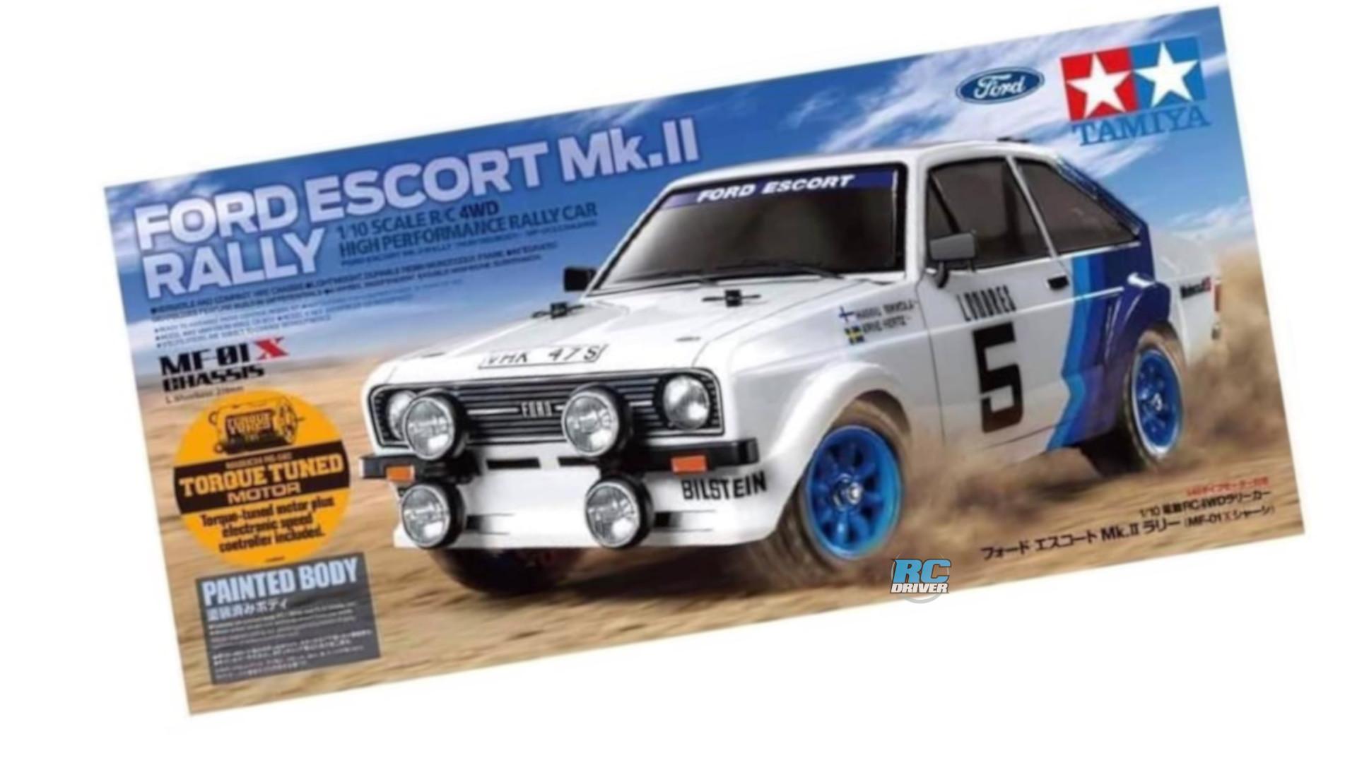 Tamiya Ford Escort Mk.II Rally with MF-01X chassis
