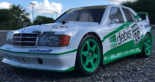 Tamiya TT-01 Type-E Mercedes-Benz 190E Review