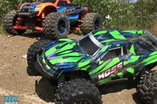 Tag Along For A Day Of Bashing With The Traxxas Hoss & Maxx