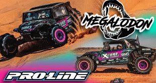 Pro-Line Megalodon Blake Wilkey Edition Tough-Color Body