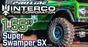 "Pro-Line Class 0 Interco Super Swamper TSL SX 1.55"" Truck Tires"