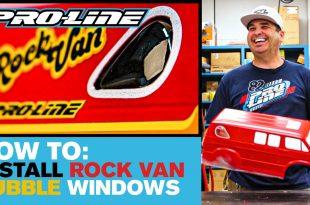 Pro-Line HOW-TO: Install 70's Rock Van Bubble Windows