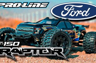 Pro-Line Ford F-150 Raptor for Rustler 4x4 Clear Body
