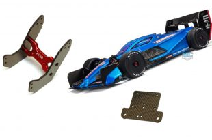 STRC High Downforce Wing Support & Steering Bellcrank for Arrma Limitless