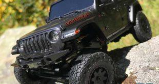 Kyosho MX-01 Mini-Z 4x4 Jeep Wrangler Rubicon Review