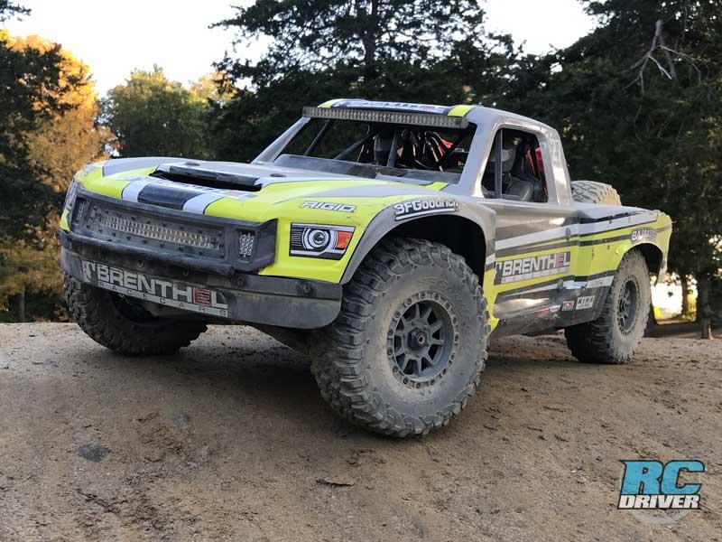 Losi Super Baja Rey 2.0 4x4 RTR Desert Truck Action
