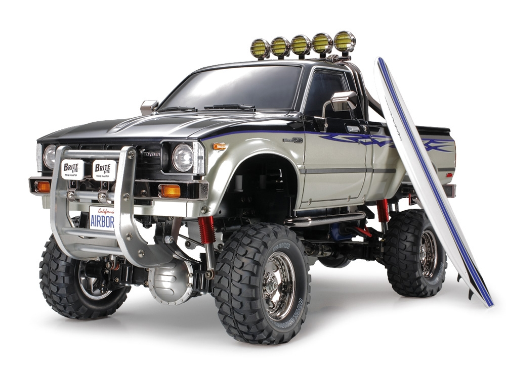 Tamiya's Awesome High-Lift 4x4 3-Speed Pick-Ups