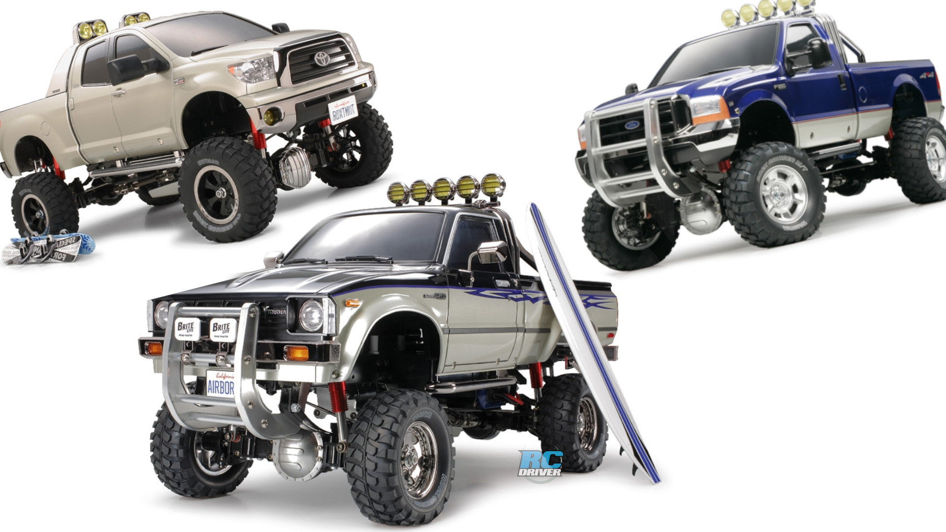 Tamiya's Awesome High-Lift 4x4 3-Speed Pick-Ups