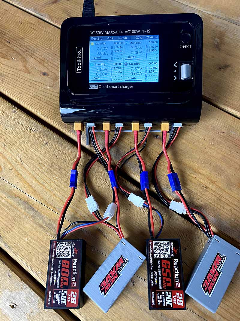 Power Up with the M4Q Quad Smart Charger by ToolKitRC