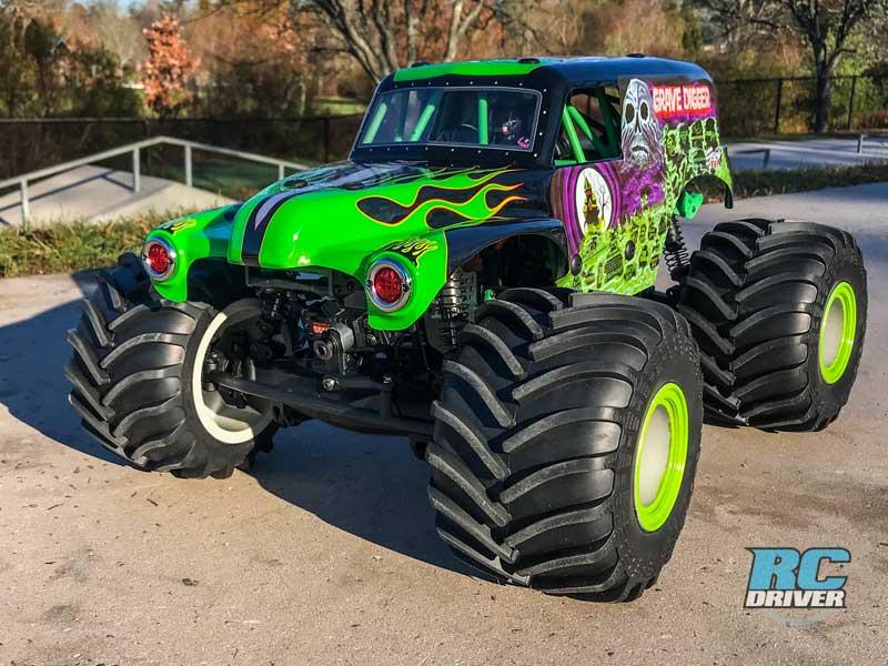Losi LMT Gravedigger 4x4 RTR RC Monster Truck Review