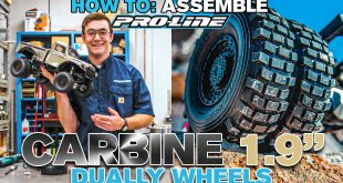 "HOW TO Assemble Pro-Line Carbine 1.9"" Bead-Loc Dually Wheels"